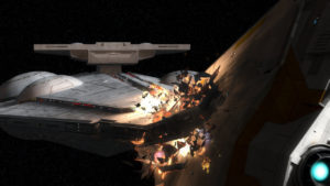 Die finale Raumschlacht in <em>Zero Hour</em>