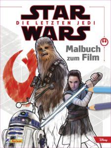Star Wars: Die letzten Jedi - Malbuch zum Film (21.12.2017)