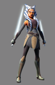 Ahsoka Tano in <em>Star Wars Rebels</em>