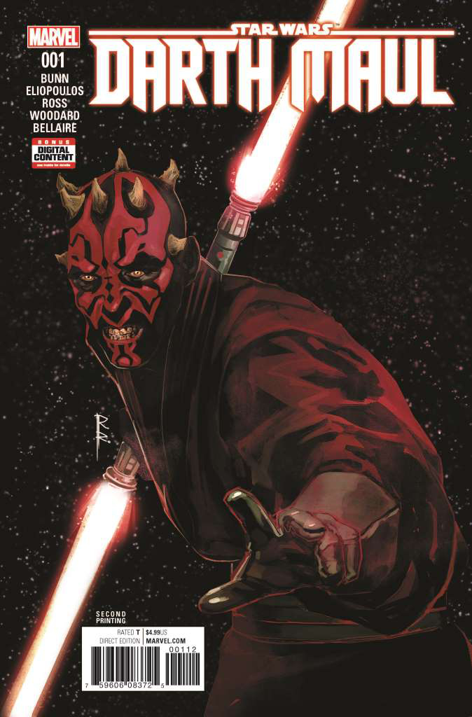 Darth Maul #1 (2nd Printing) (31.05.2017)
