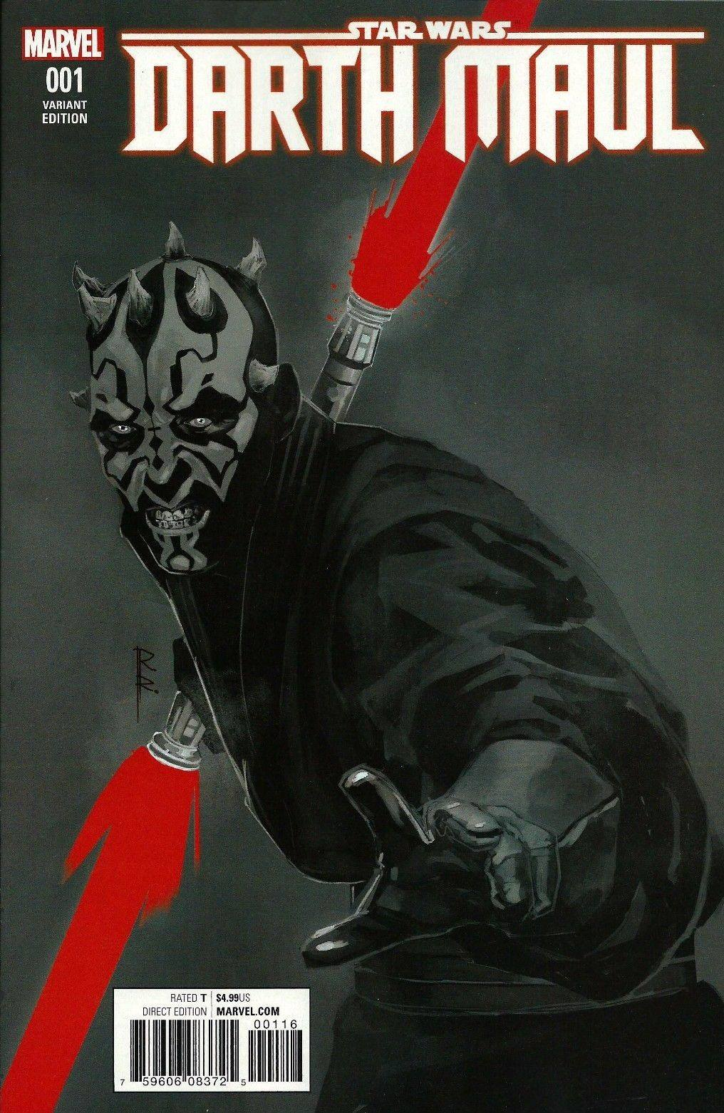 Darth Maul #1 (Rod Reis ComicsPRO Variant Cover) (16.02.2017)
