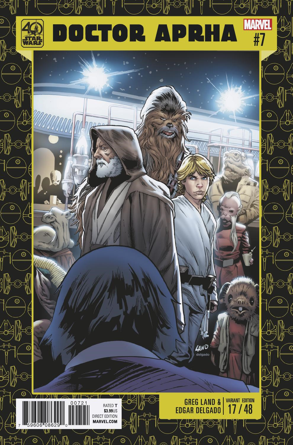 Doctor Aphra #7 (Greg Land 40th Anniversary Variant Cover) (31.01.2017)
