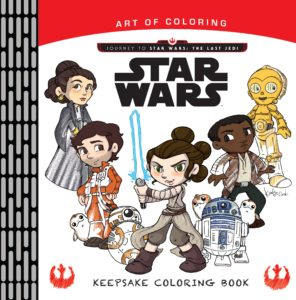 Art of Coloring: Star Wars - Keepsake Coloring Book