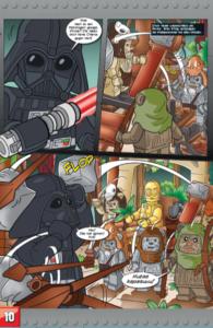 LEGO Star Wars Comic Sammelband #5 - Vorschau Seite10