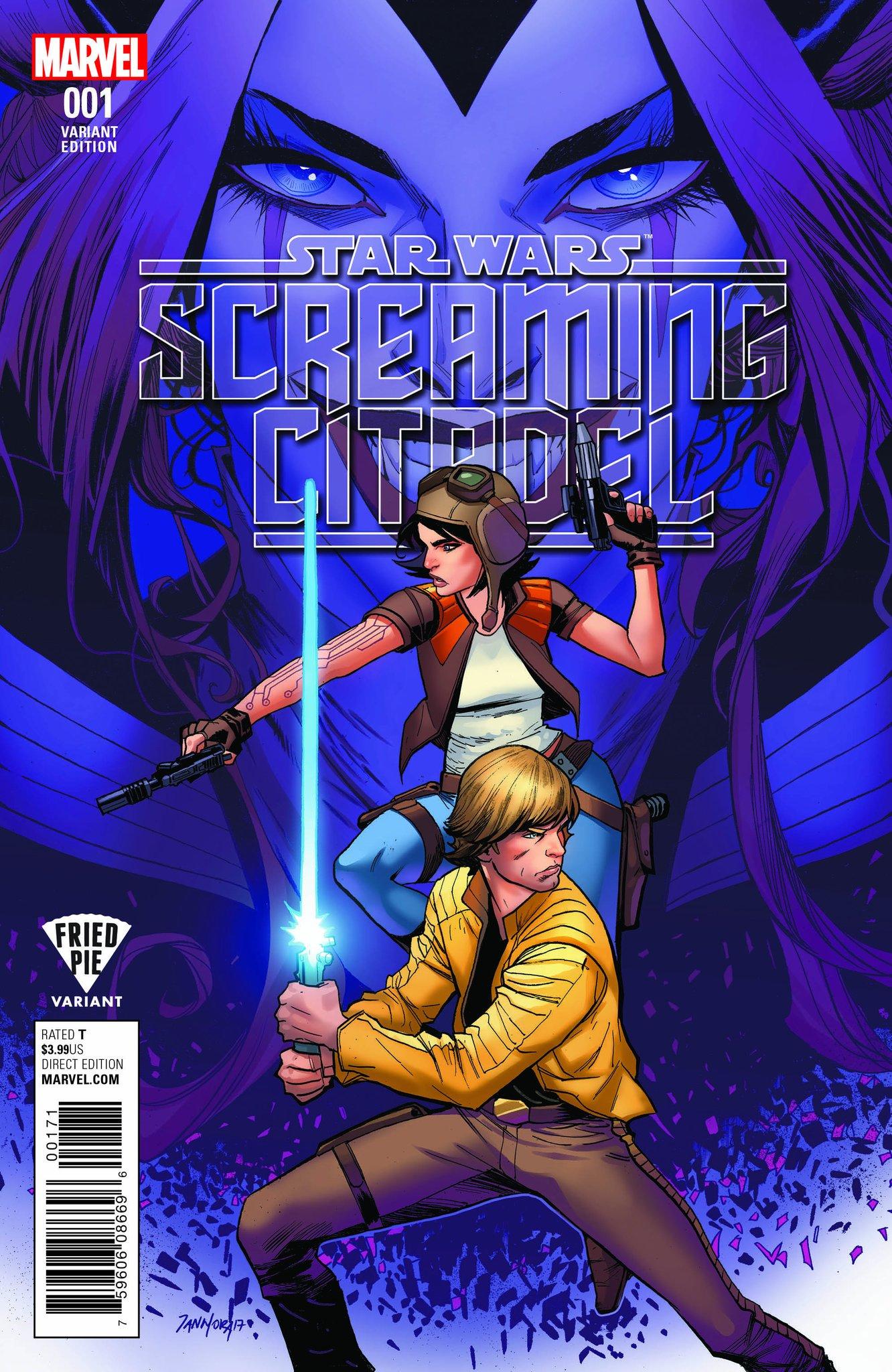 The Screaming Citadel #1 (Dan Mora Fried Pie Comics Variant Cover) (10.05.2017)