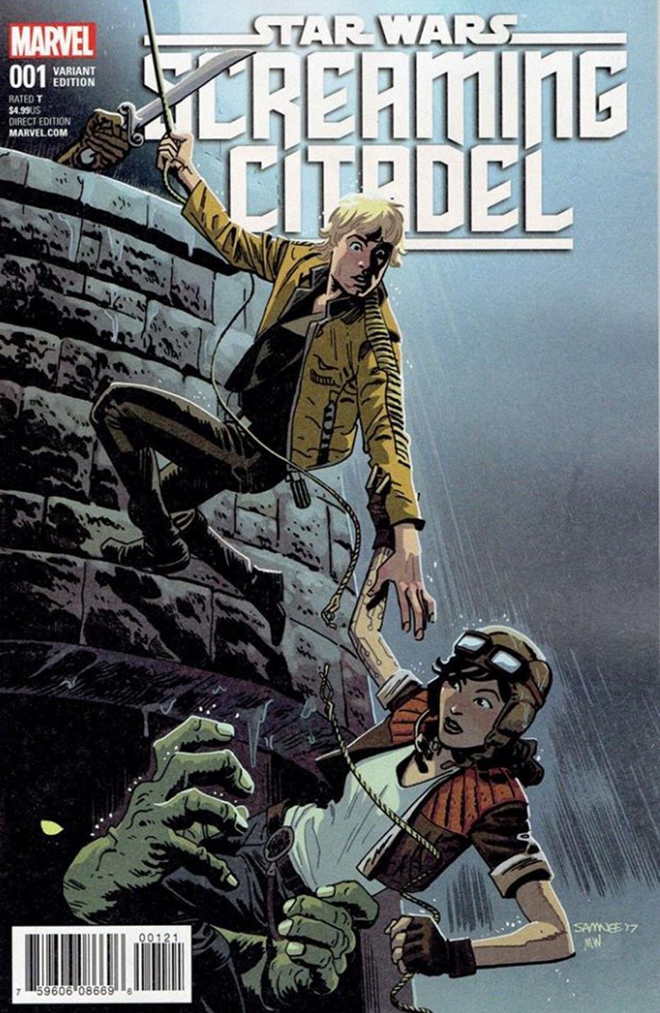 The Screaming Citadel #1 (Chris Samnee Variant Cover) (10.05.2017)