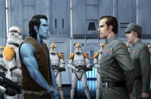 Thrawn trifft in <em>Mist Encounter</em> auf Captain Voss Parck