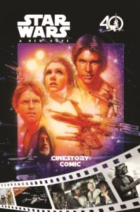 Star Wars: A New Hope - Cinestory Comic: 40th Anniversary Edition (03.10.2017)
