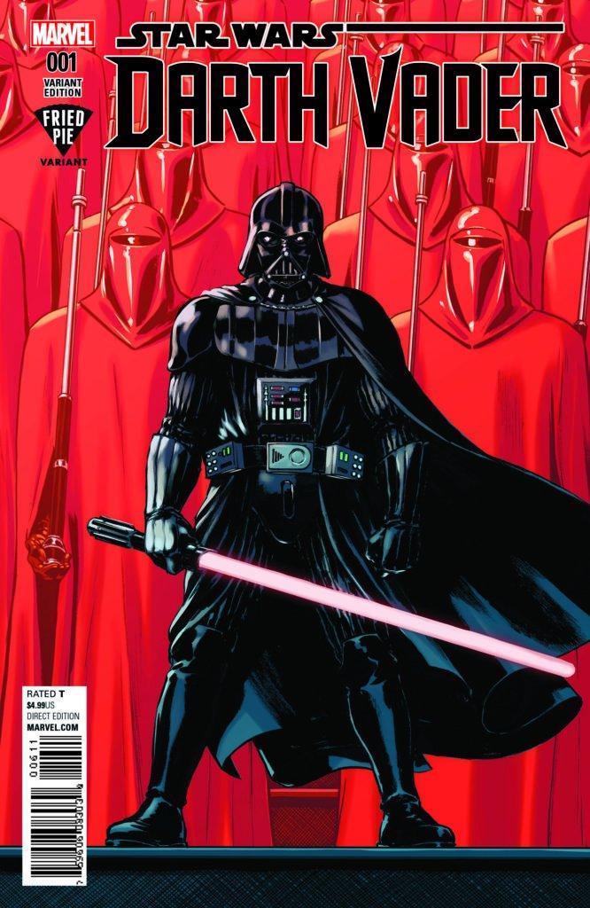 Darth Vader #1 (David Lopez Fried Pie Comics Variant Cover) (07.06.2017)