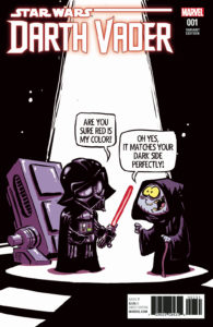 Darth Vader #1 (Skottie Young Variant Cover) (07.06.2017)