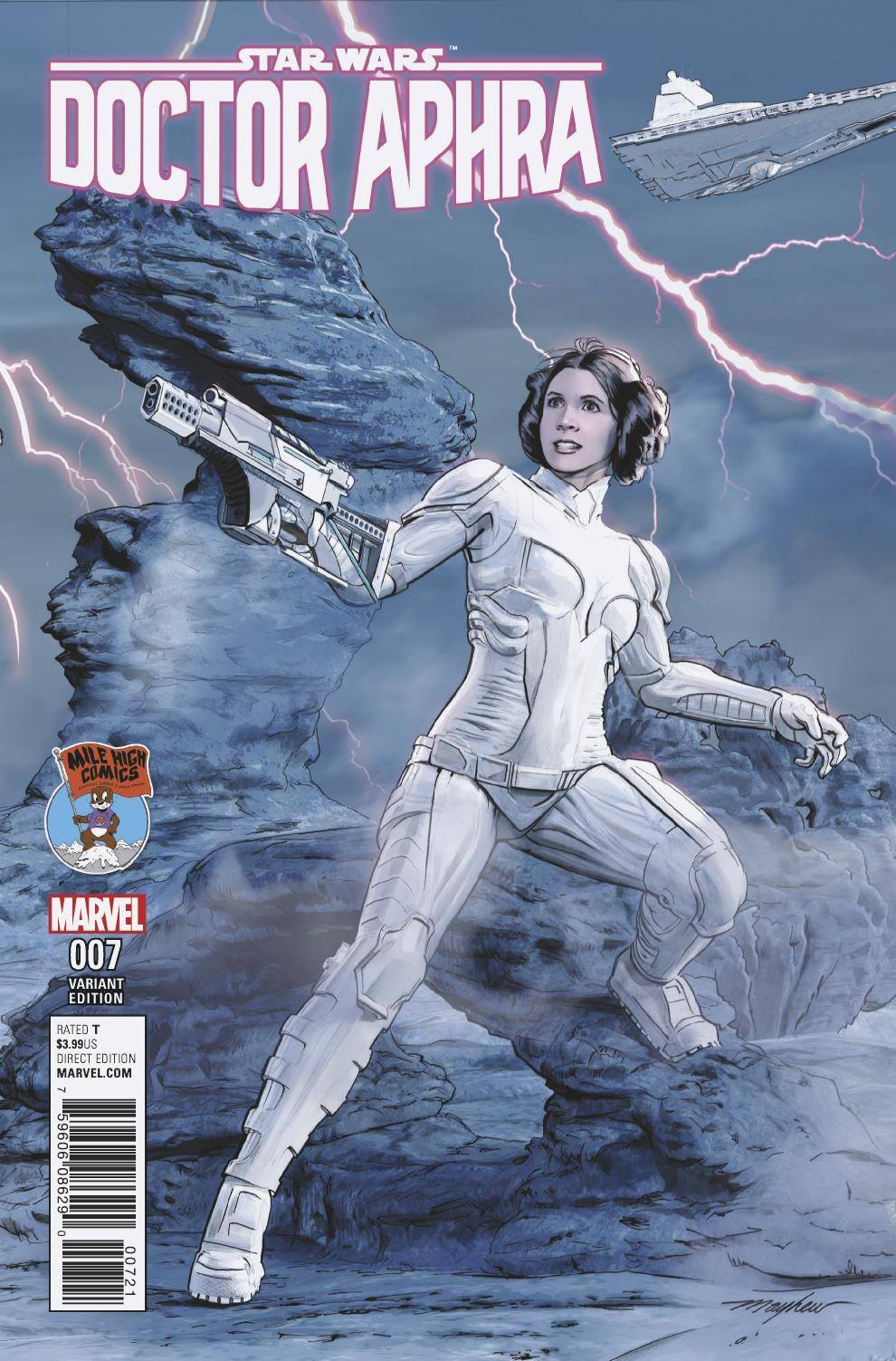 Doctor Aphra #7 (Mike Mayhew Mile High Comics Variant Cover) (31.05.2017)