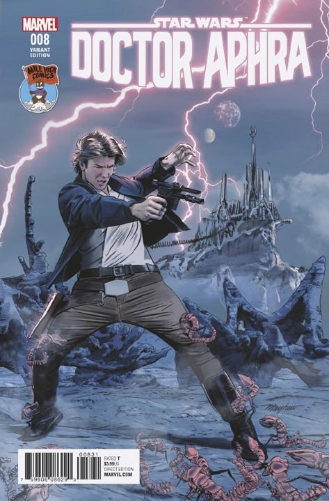 Doctor Aphra #8 (Mike Mayhew Variant Cover) (28.06.2017)