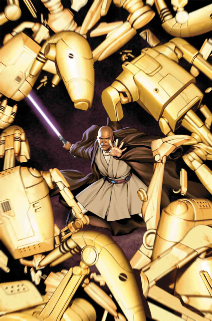 Jedi of the Republic - Mace Windu #1 (August 2017)