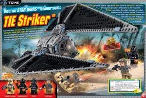 LEGO Star Wars Magazin #23 - Vorschau Seiten 30 und 31