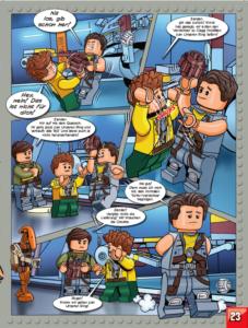 LEGO Star Wars Magazin #24 - Vorschau Seite 23