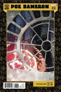 Poe Dameron #16 (Stephanie Hans Star Wars 40th Anniversary Variant Cover) (28.06.2017)