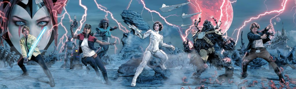 The Screaming Citadel (Mike Mayhew MHC Connecting Cover)