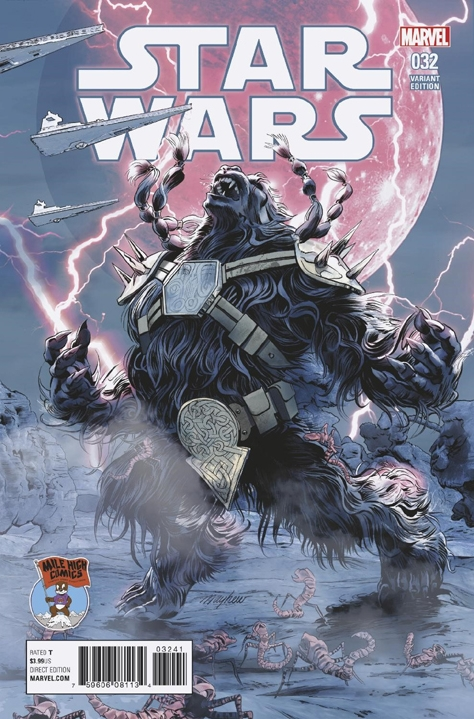 Star Wars #32 (Mike Mayhew Mile High Comics Variant Cover) (14.06.2017)