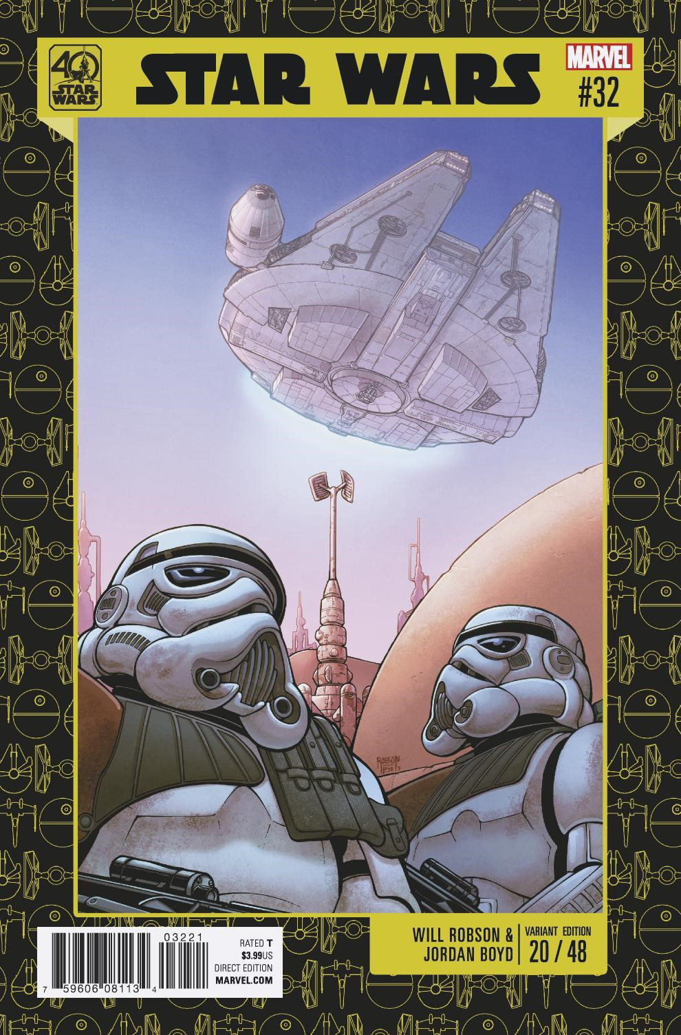 Star Wars #32 (Will Robson Star Wars 40th Anniversary Variant Cover) (14.06.2017)