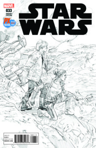 Star Wars #33 (Mike Mayhew SDCC 2017 Black & White Variant Cover) (20.07.2017)