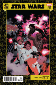 Star Wars #34 (Daniel Acuna Star Wars 40th Anniversary Variant Cover) (16.08.2017)