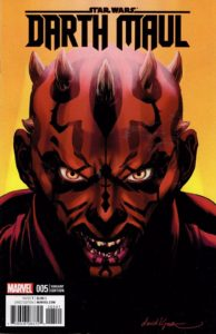 Darth Maul #5 (David Lopez Variant Cover) (24.08.2017)