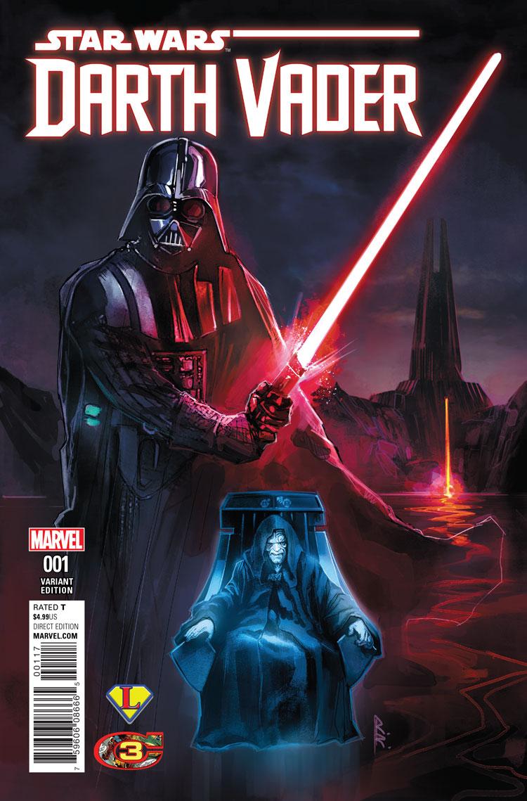 Darth Vader #1 (Rod Reis Variant Cover) (07.06.2017)
