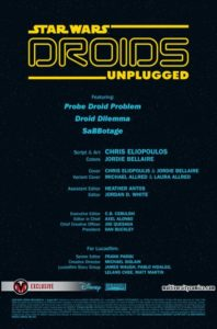 Droids Unplugged Vorschauseite 1