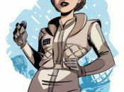 Star Wars Adventures: Forces of Destiny - Leia (Cover B by Elsa Charretier) (03.01.2018)