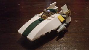 LEGO Star Wars Magazin #24 - A-Wing - Minimodell