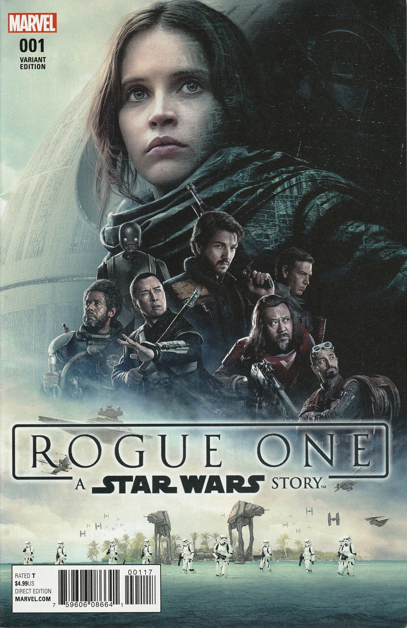 Rogue One #1 (Movie Poster Variant Cover) (05.04.2017)