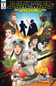 Star Wars Adventures #1 (Cover A by Derek Charm) (06.09.2017)