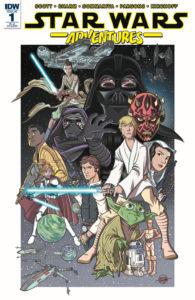 Star Wars Adventures #1 (Eric Jones Variant Cover) (06.09.2017)