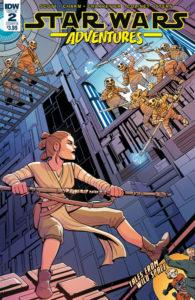 Star Wars Adventures #2 (Cover B by Elsa Charretier) (20.09.2017)