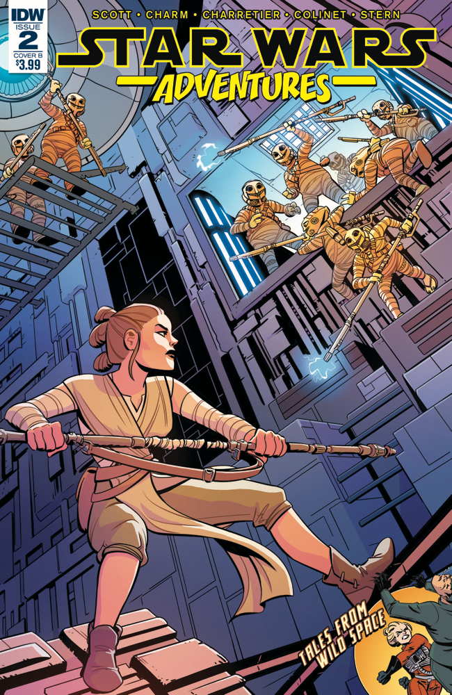 Star Wars Adventures #2 (Cover B by Elsa Charretier) (20.09.2017)