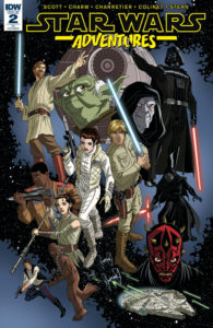 Star Wars Adventures #2 (Tim Levins Variant Cover) (20.09.2017)