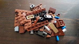 LEGO Star Wars Magazin #25 - Sandcrawler - Bauteile