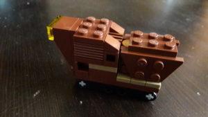 LEGO Star Wars Magazin #25 - Sandcrawler - Minimodell