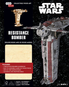 IncrediBuilds: Resistance Bomber Deluxe Book and Model Set (11.09.2018)