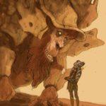 Der Bendu und Ahsoka (Zeichnung von Dave Filoni)