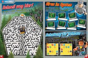 LEGO Star Wars Magazin #29 - Vorschau Seiten 14 und 15