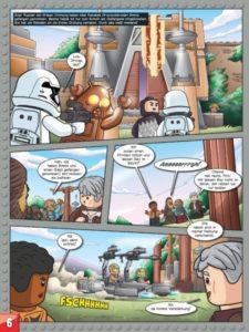 LEGO Star Wars Sammelband #7 - Coole Abenteuer mit Finn und Rey - Vorschauseite 34