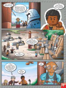 LEGO Star Wars Sammelband #7 - Coole Abenteuer mit Finn und Rey - Vorschauseite 35