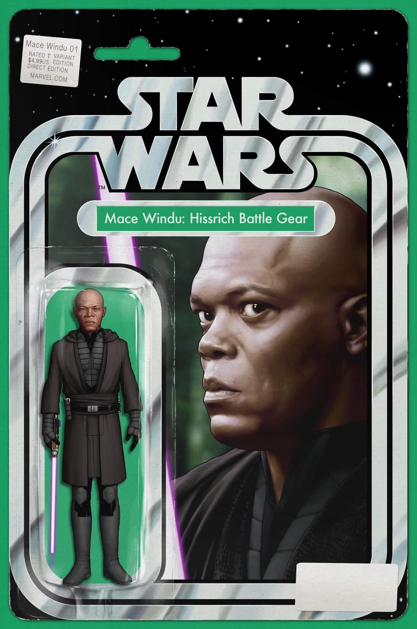 Jedi of the Republic - Mace Windu #1 (Action Figure Variant Cover) (23.08.2017)