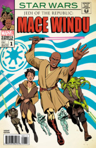 Jedi of the Republic - Mace Windu #1 (Javier Rodriguez Marvel Homage Variant Cover) (30.08.2017)