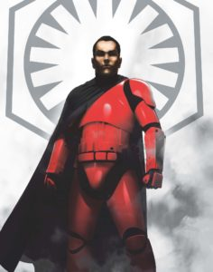Phasma - B&N Exclusive First Order Character Poster Captain Cardinal