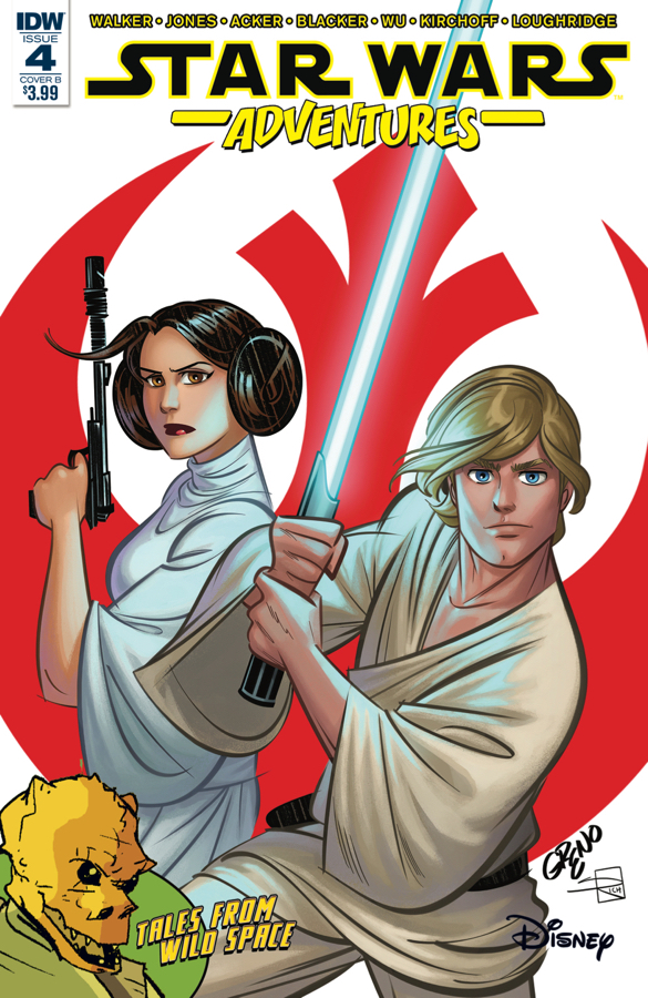 Star Wars Adventures #4 (Cover B by Nathan Greno) (22.11.2017)