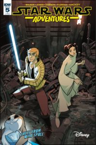 Star Wars Adventures #5 (Jon Sommariva Variant Cover) (27.12.2017)