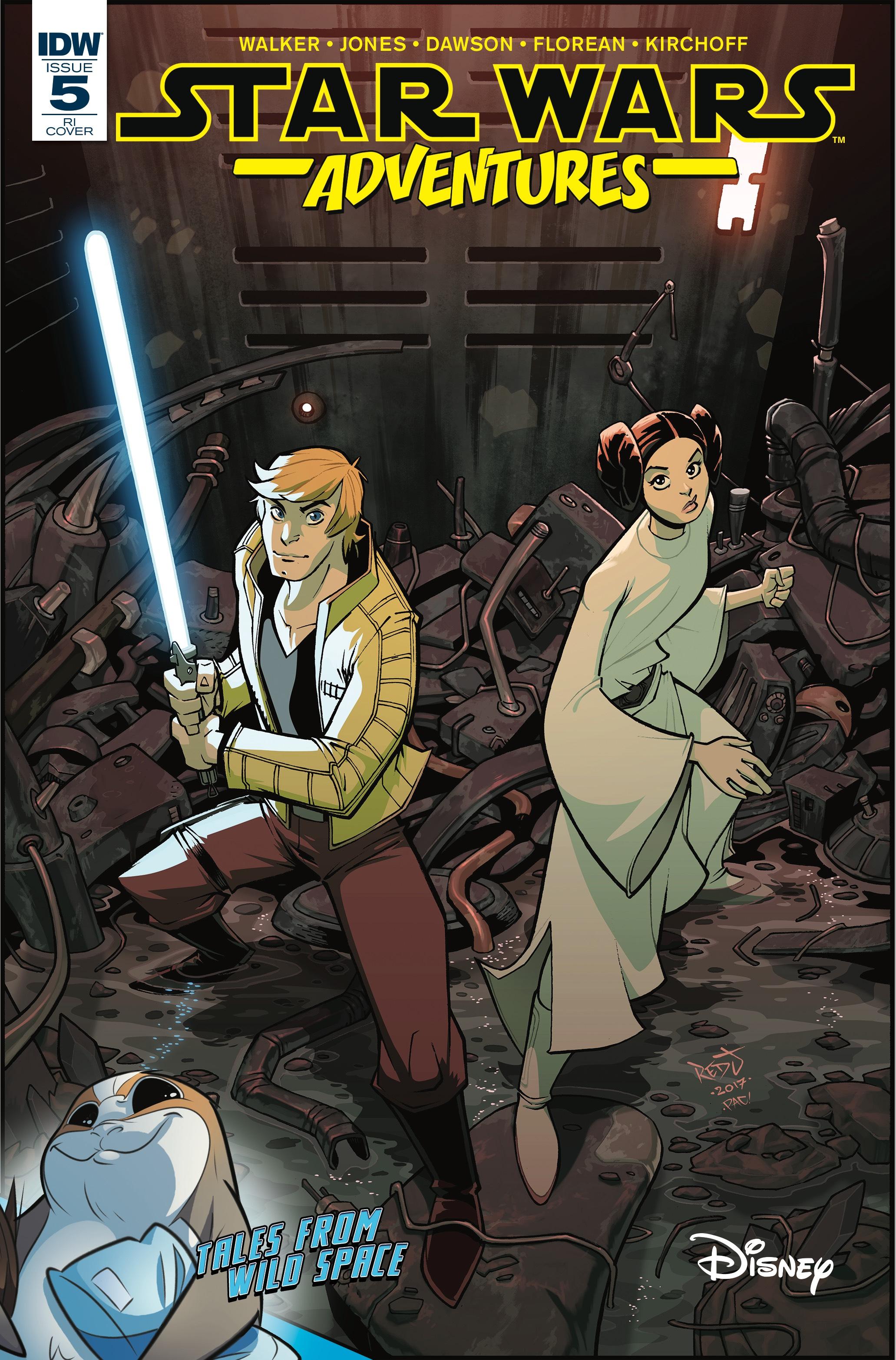 Star Wars Adventures #5 (Jon Sommariva Variant Cover) (27.12.2017)
