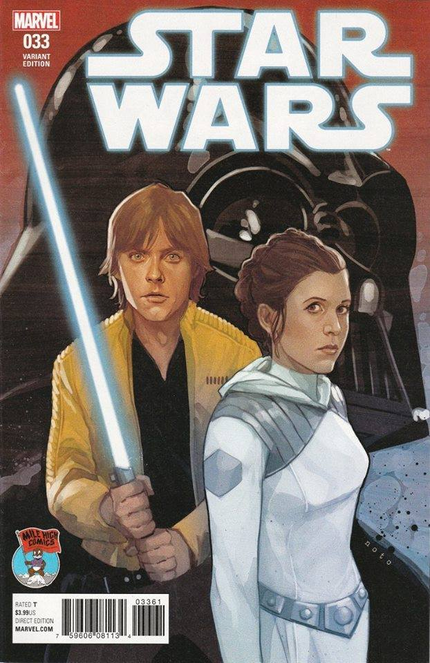 Star Wars #33 (Phil Noto Mile High Comics Variant Cover) (05.07.2017)